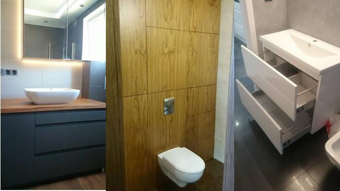 Modernistyczne Meble łazienkowe na wymiar - producent mebli na zamówienie Benmax EG53
